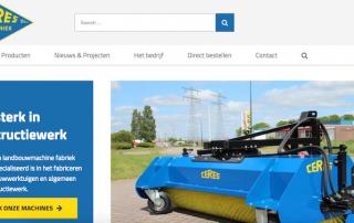 Ceres Techniek nieuwe website