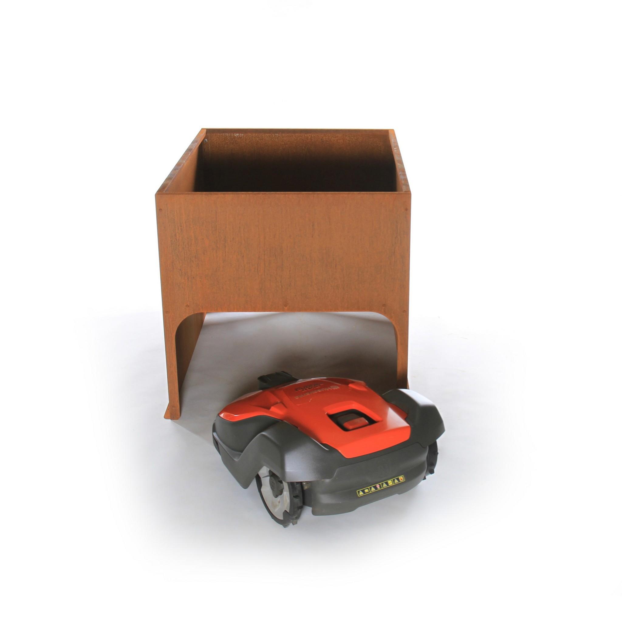 Robotmaaier gararage - model platenbak